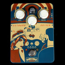 Orange Getaway Drive Overdrive Effects Pedal