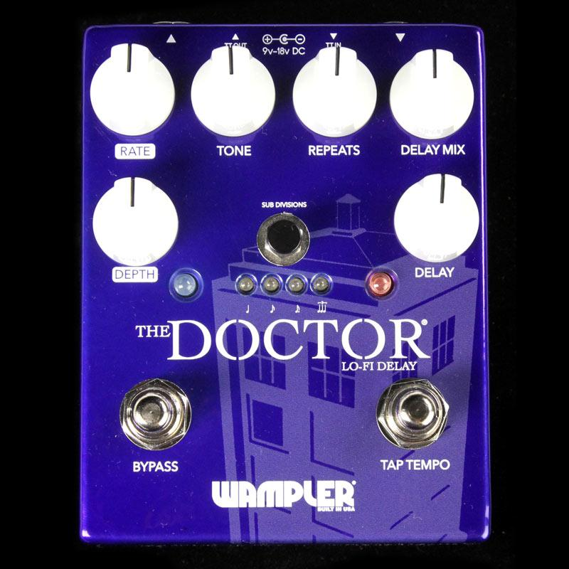 Wampler The Doctor LoFi Ambient Delay Guitar Effect Pedal