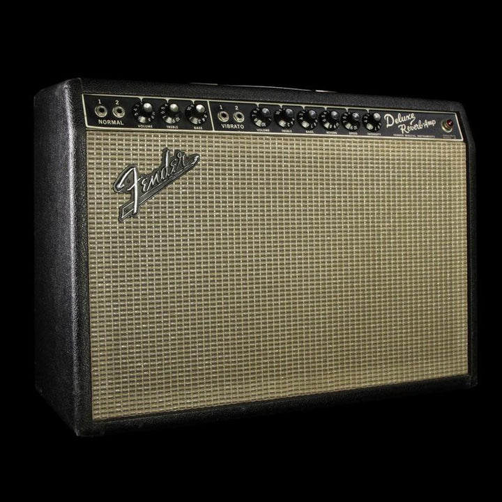 used 1967 fender deluxe reverb combo guitar amplifier the music zoo. Black Bedroom Furniture Sets. Home Design Ideas