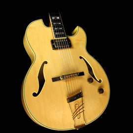 Used Ibanez PM100 Pat Metheny Signature Hollowbody Electric Guitar Natural