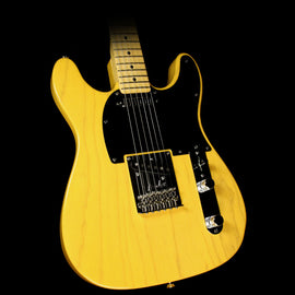 Used Fender Limited Edition Double Cut Telecaster Electric Guitar Butterscotch Blonde