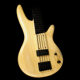Used Ibanez GWB1005 Gary Willis 5-String Electric Bass Guitar Natural