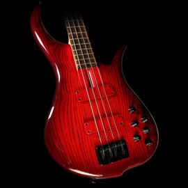 Used F-Bass BN4 4-String Electric Bass Transparent Red
