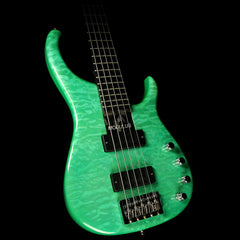 Used Modulus Quantum 5-String Electric Bass Green
