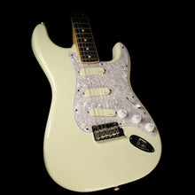 Used 2016 Fender American Standard Channel Bound Stratocaster Electric Guitar Olympic White