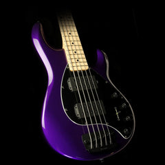 Ernie Ball Music Man Stingray 5-String Electric Bass Guitar Firemist Purple