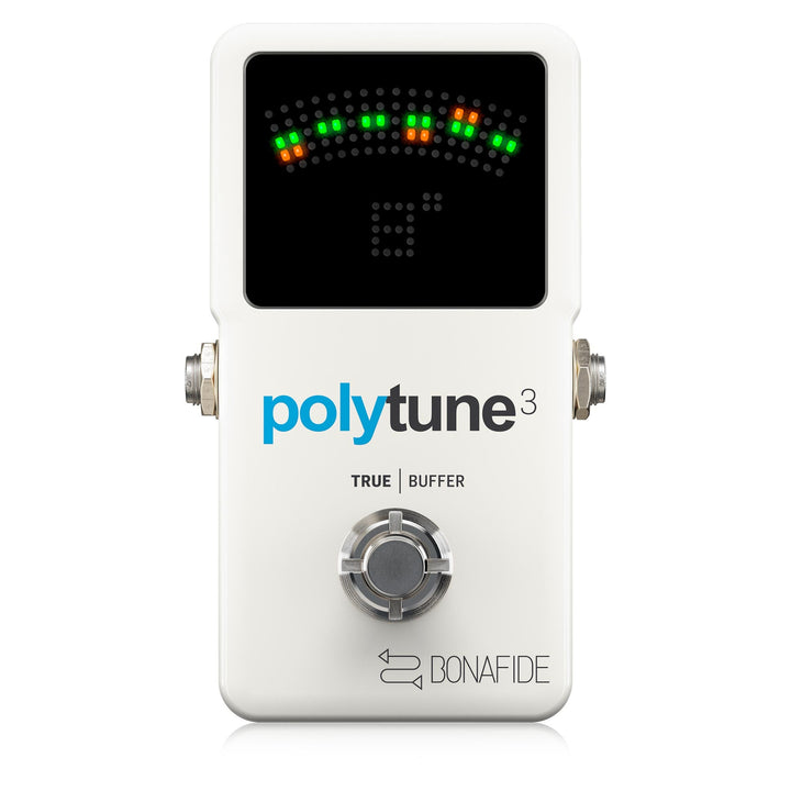 TC Electronic PolyTune 3 Chromatic Tuner with Built-In Buffer 966130001