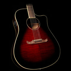 Fender T-Bucket 300-CE Acoustic-Electric Guitar Trans Cherry Burst
