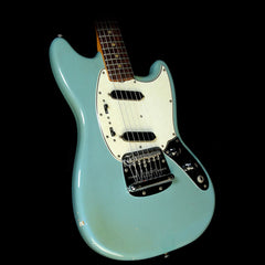 Used 1965 Fender Mustang Electric Guitar Daphne Blue