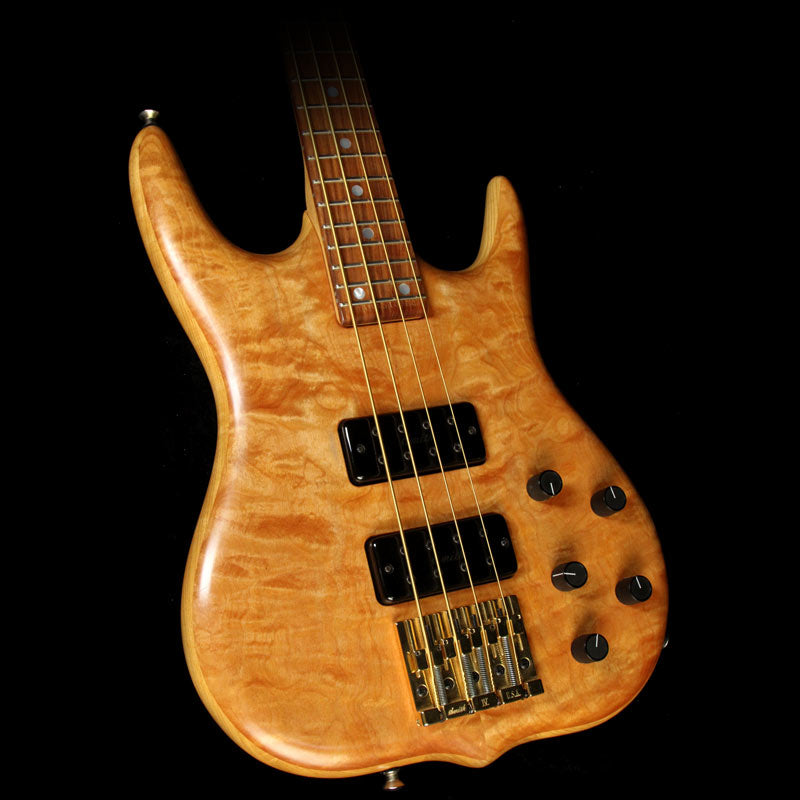 Used 1996 Ken Smith M-Series 4-String Electric Bass Guitar Natural