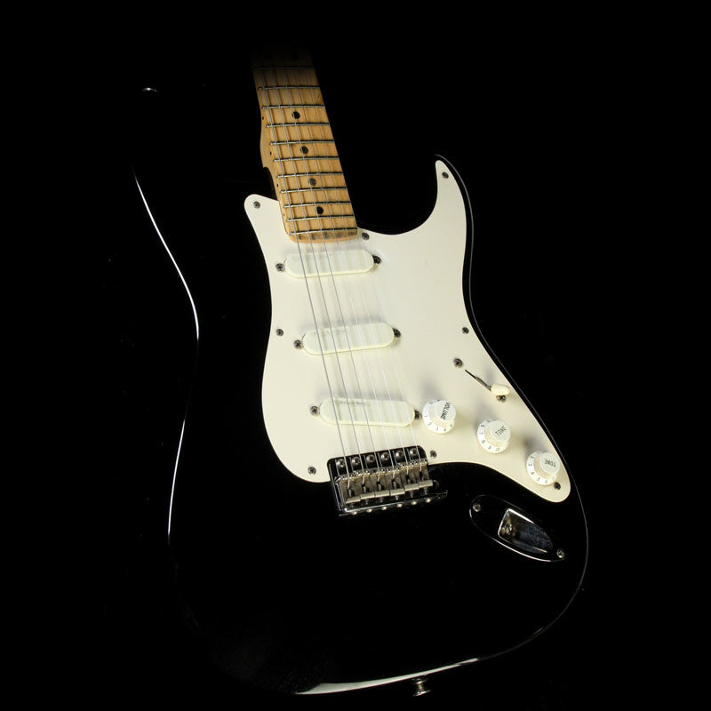 "Used 1992 Fender Eric Clapton Signature ""Blackie"" Stratocaster Electric Guitar"