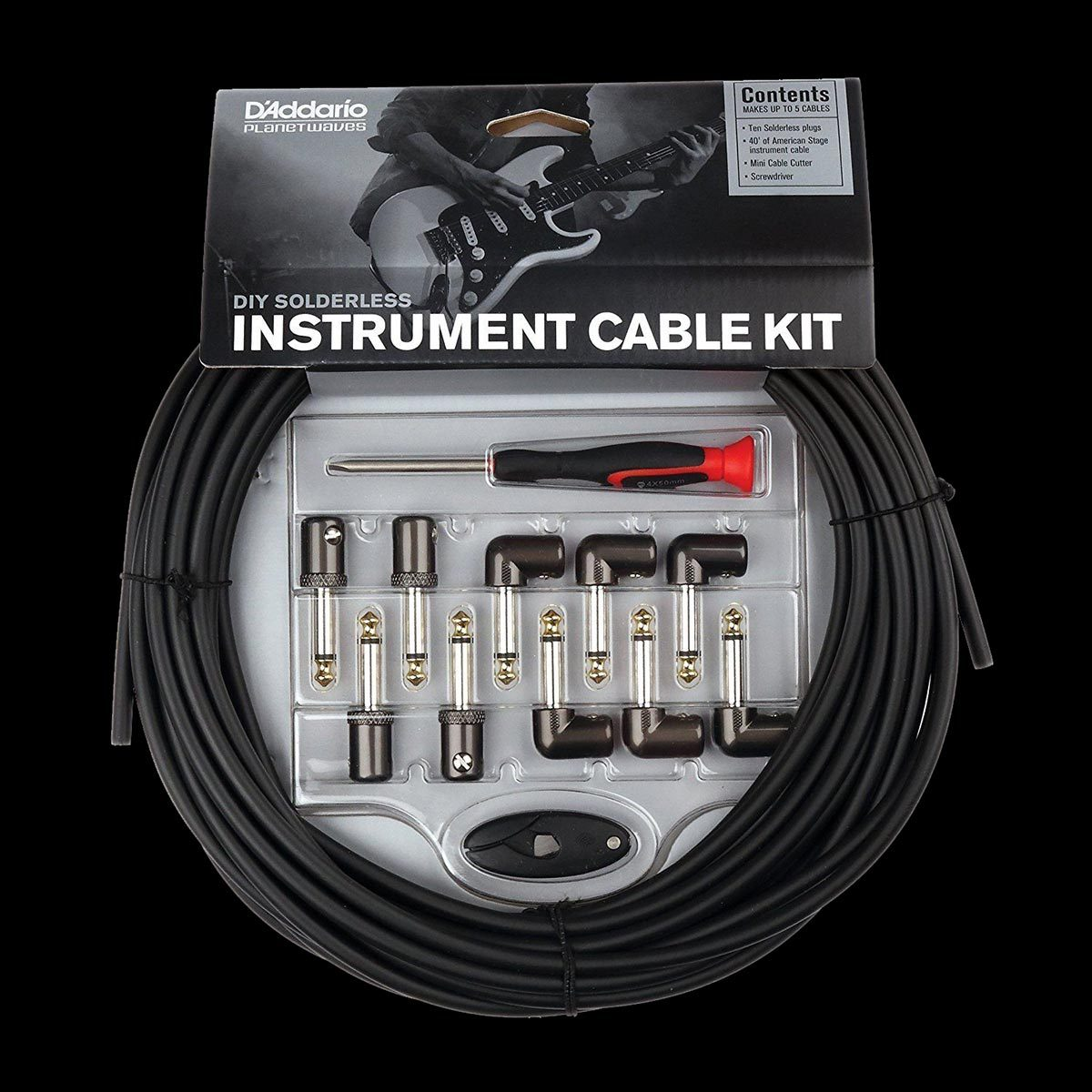 Planet Waves PW-GPKIT-50 Instrument Cable Kit