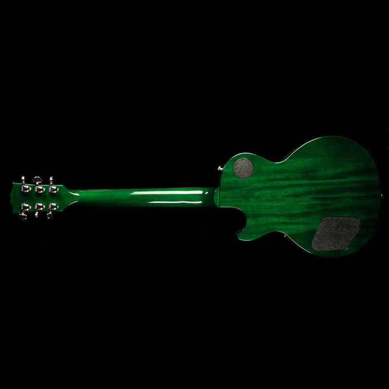2017 Gibson Les Paul Classic T Electric Guitar Green Ocean Burst 170099889