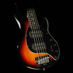 Ernie Ball Music Man Stingray 5-String Electric Bass Guitar Vintage Sunburst