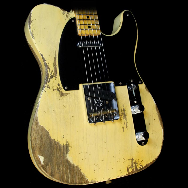Fender Custom Shop 1951 Nocaster Heavy Relic Electric Guitar Faded Nocaster Blonde R16977