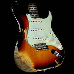 Fender Custom Shop '60 Stratocaster Relic Electric Guitar Aged 3-Tone Sunburst