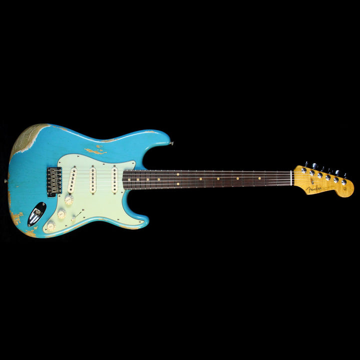 Fender Custom Shop '60 Stratocaster Relic Faded Taos Turquoise XN1707