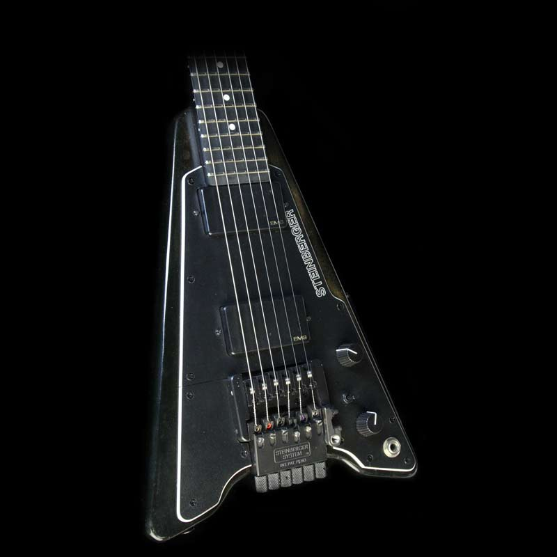 Used Steinberger GP2T Electric Guitar Black