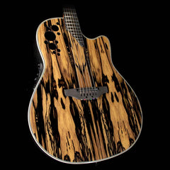 Ovation C2078AXP-RE Exotic Wood Elite Plus Acoustic-Electric Guitar Royal Ebony