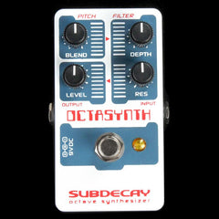 Subdecay Octasynth Octave Synthesizer Effects Pedal