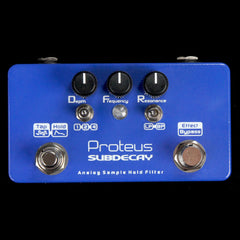 Subdecay Proteus Sample Hold Filter Effects Pedal
