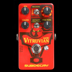 Subdecay Vitruvian Mod Ring Modulator Effects Pedal