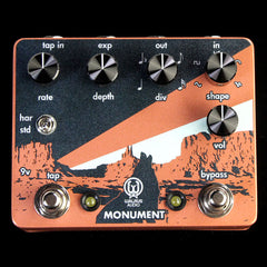 Walrus Audio Monument Harmonic Tap Tremolo Effects Pedal