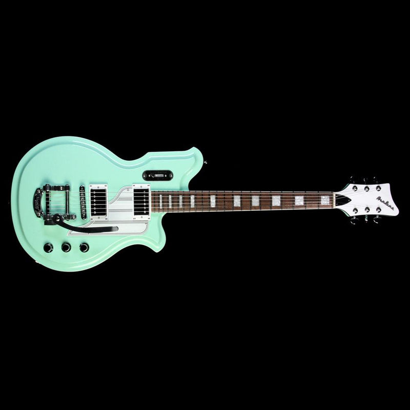 Eastwood Airline Map DLX Electric Guitar Seafoam Green 1403