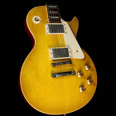 Used 2007 Gibson Custom Shop 1958 Les Paul Historic Electric Guitar Lemonburst