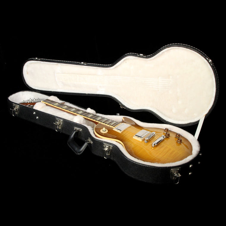Used 2008 Gibson Les Paul Standard Electric Guitar Honey Burst