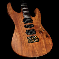 Suhr Modern Figured Koa Electric Guitar Natural Oil