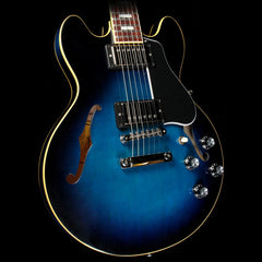 Gibson Memphis Limited Edition ES-339 Electric Guitar Antique Blues Burst VOS