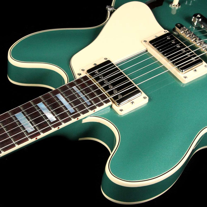 Gibson Memphis Limited Edition ES-335 Big Block Retro Emerald Green Metallic 13257730