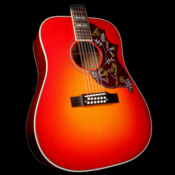 gibson hummingbird 12 string heritage burst acoustic guitar the music zoo. Black Bedroom Furniture Sets. Home Design Ideas