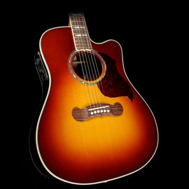 Gibson Montana Acoustic Songwriter Deluxe EC Studio Acoustic-Electric 2018 Guitar Rosewood Burst