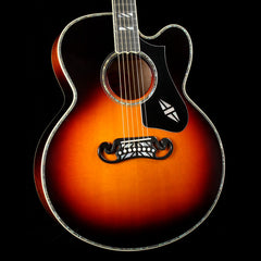 Gibson Super 200 Birdseye Acoustic-Electric Sunset Burst 2018