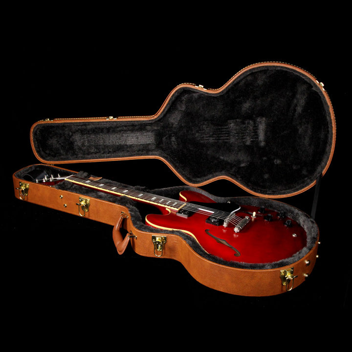 Gibson Memphis Limited Edition ES-335 Satin Wine Red 10038714