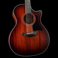 Taylor 324ce Mahogany Top Grand Auditorium Acoustic-Electric Guitar Shaded Edgeburst