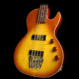 B&G Guitars Big Sister Electric Bass Guitar Honey Burst