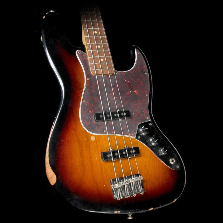 Fender Road Worn '60s Jazz Bass Guitar 3 Color Sunburst 0131810300