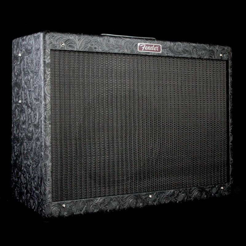 Fender Limited Edition Blues Deluxe Reissue Guitar Combo Amplifier Black Western 2232200812
