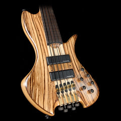 Used Daniel Fernandez Headless SCLE 5-String Fretless Electric Bass Natural