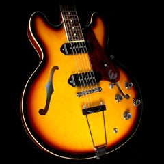 Used 2011 Epiphone 1961 50th Anniversary Casino Hollowbody Electric Guitar Vintage Sunburst