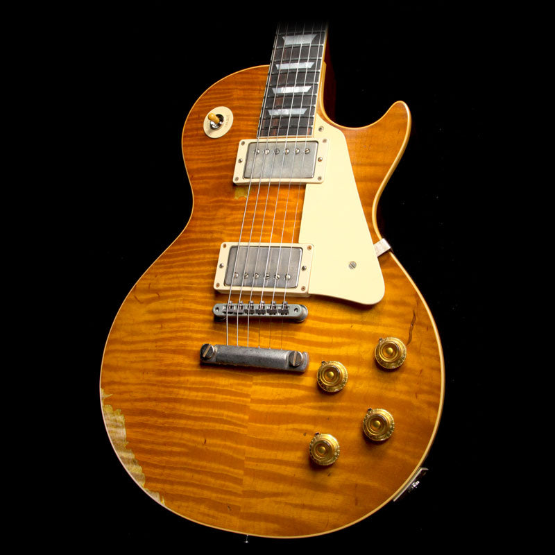 Gibson Custom Shop Roasted 1959 Les Paul Standard Brazilian Rosewood Fretboard Electric Guitar Page 63 Burst 97031