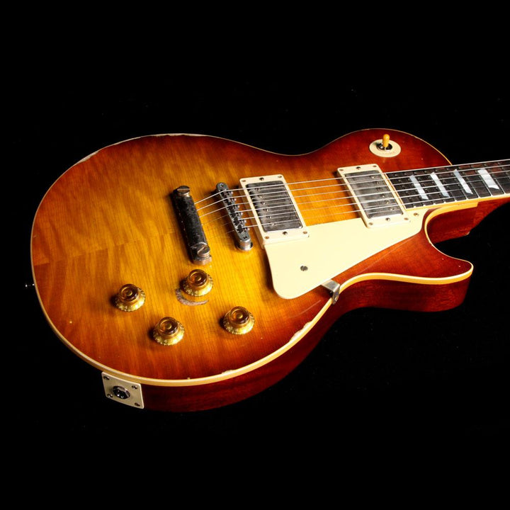 Gibson Custom Shop 1959 Les Paul Standard Brazilian Rosewood Fretboard Sunrise Tea Burst 97059