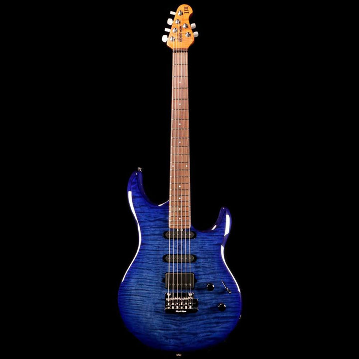 Ernie Ball Music Man Luke III Ball Family Reserve Electric Guitar Blueberry Burst Flame G89371