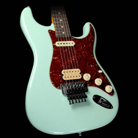 Used 2016 Fender Custom Shop Exclusive ZF Stratocaster Closet Classic Electric Guitar Faded Surf Green