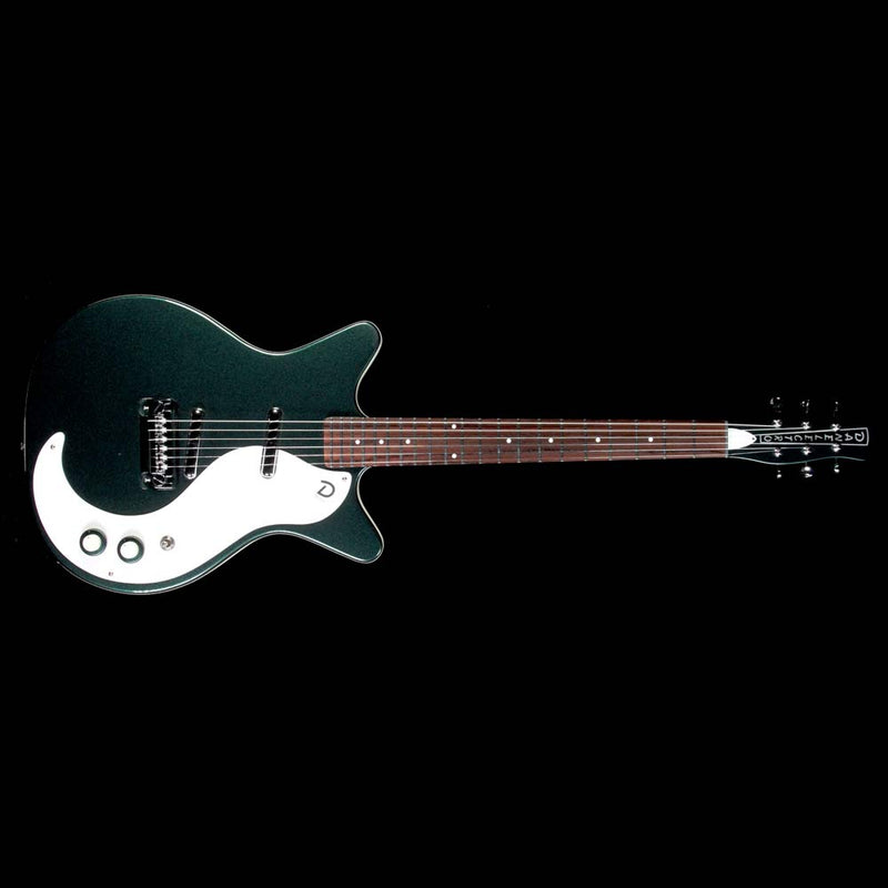 Danelectro '59M Plus Electric Guitar British Racing Green D59M-PLUS-RCG