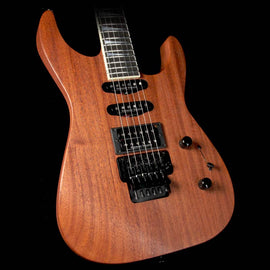 Jackson Custom Shop SL1 Soloist Roasted Mahogany Electric Guitar Natural