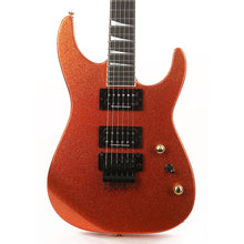 Jackson Custom Shop Exclusive SL2H-V Soloist Music Zoo Exclusive Orange Sparkle